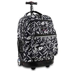 J WORLD Rolling Backpack